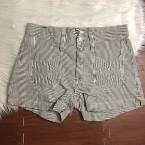 4/$25 •7 For All Mankind • Striped Shorts